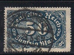 Germany Sc. # 198 Used Inflation Wmk. 126 - L17