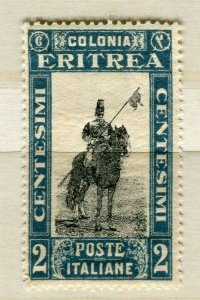ITALY; ERITREA 1930 early pictorial issue Mint hinged 2c. value