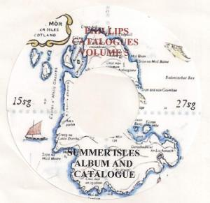 SCOTLAND - Summer  Isles -  CD CATALOGUE AND ALBUM