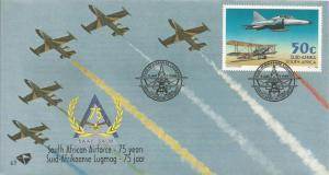 SOUTH AFRICA, 1995, FDC, South African Airforce, Scott 906