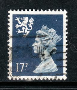 Great Britain Scotland SMH32 Used Bin
