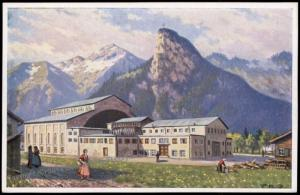 Germany 1930 Oberammergau Bavaria Passionspiel Private GSK Postal Card Cov 68571