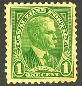 CANAL ZONE #105 MINT OG LH