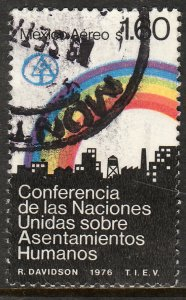 MEXICO C522 U.N. Conference on Human Settlements. Used F-VF. (829)