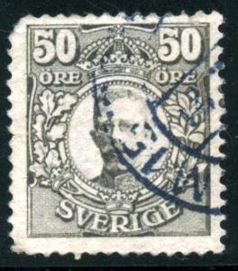 SWEDEN - SC #89 - used - 1912 - Item SWEDEN005