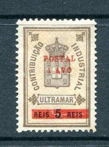 Macau 158 Coat of Arms CV $32.50  Owners Mark  1911 Mint Hinged