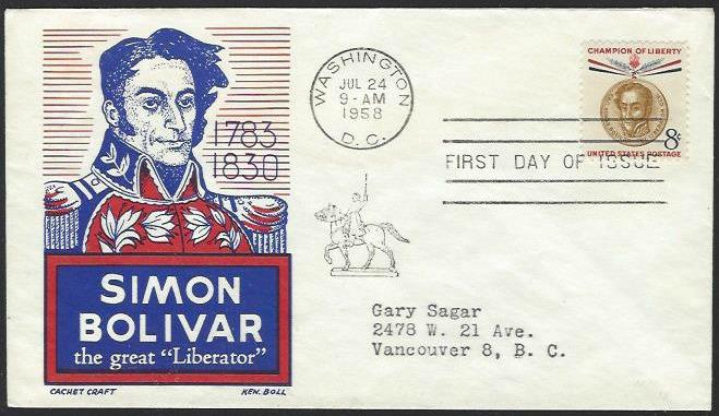 USA #1111 First Day Cover