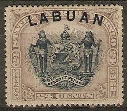 Labuan 75 SG 91 Mint F/VF 1897 SCV $10.00