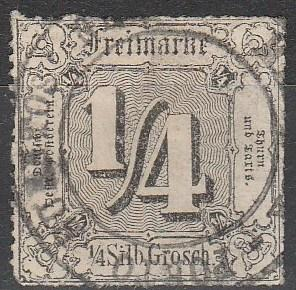 Thurn & Taxis #21 Used CV $400.00 (A16121)