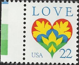 # 2248 MNH - SCV-0.45 - LOVE STAMP