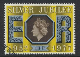 Great Britain  SG 1037 SC# 814 Used / FU with First Day Cancel - Silver Jubilee