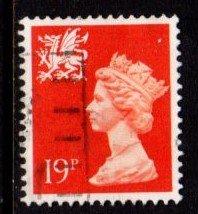 Wales - #WMMH36 Machin Queen Elizabeth II - Used