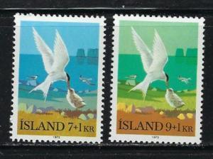 Iceland B23-24 Hinged 1972 set