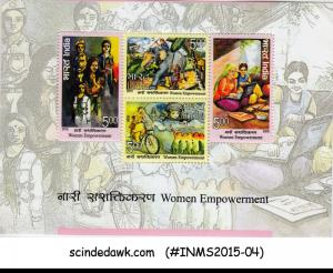 INDIA - 2015 WOMEN EMPOWERMENT GENDER EQUALITY M/S MNH