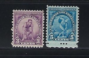 US #718-719 1932 OLYMPIC GAMES -   MINT NEVER HINGED