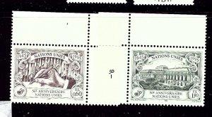 U.N.-Geneva 270-71 MNH 1995 anniversary of U.N.    (P22)