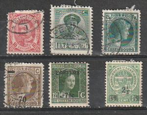 #82,112,141,182,191,B7 Luxembourg Used