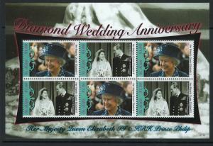 St. Kitts Scott 696 MNH! QEII Diamond Weddng Anniv.