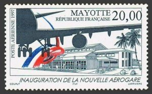 Mayotte C1,MNH. Opening of New Air Terminal,1997.