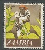 ZAMBIA 44 VFU TOBACCO C636-1