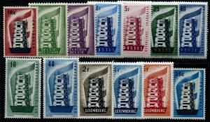HERRICKSTAMP EUROPA OMNIBUS Europa 1956 Omnibus Stamps (13 Values)