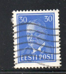 Estonia Sc 131 1939 30s ultra President Pats stamp used