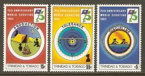 Trinidad & Tobago #361-3 NH Scouting Year