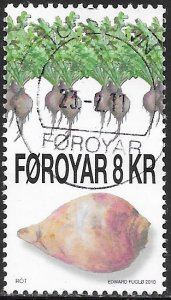 Faroe Islands 545 Used - Vegetables - Potatoes & Root vegetables - Kohlrabi