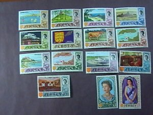 JERSEY # 7-21--MINT NEVER/HINGED---COMPLETE SET------1969