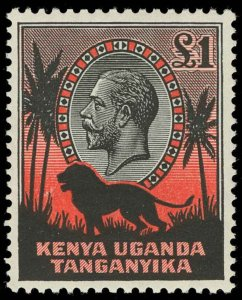 Kenya, Uganda and Tanganyika Scott 46-59 Gibbons 110-123 Never Hinged Set of Sta