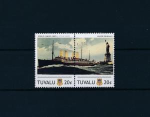[81248] Tuvalu 2011 Ship Kaiser Wilhelm II Ocean Liners Norddeutscher Lloyd MNH
