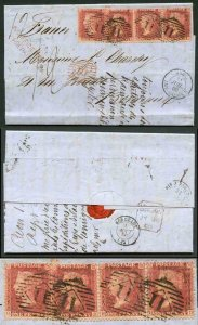 Penny Star x 4 on cover RED 50 in Diamond insufficiently pre-paid