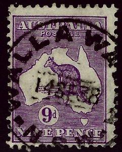 Australia SC#97 Used F-VF SCV$26.00...An Amazing Country!
