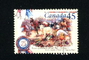 Canada #1672    -1  used VF 1997  PD