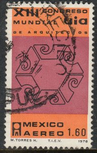 MEXICO C585, Congress of Int Union of Architects. Used. VF. (1188)