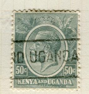 BRITISH KUT; KENYA 1922 early GV issue fine used 50c. value