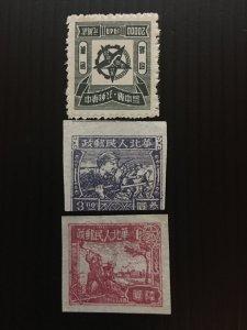China stamp, liberated area set, Genuine, rare, list #815