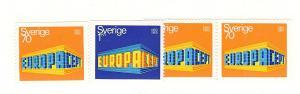 Sweden, 814-16, Europa - 1969, Singles, MNH