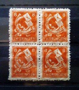 Germany Thuringen 96AY yy mnh