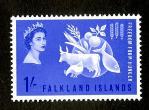 FALKLAND ISLAND 146 MNH SCV $11.50 BIN $6.75