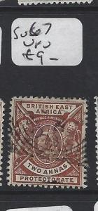 BRITISH EAST AFRICA (P2705BB)  QV 2A LION  SG 67  VFU