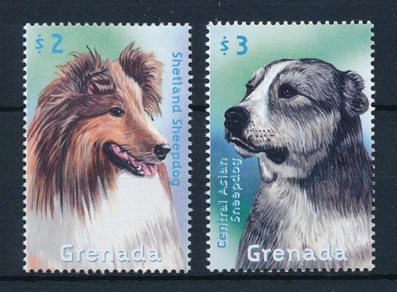 [31617] Grenada 2000 Animals Dogs MNH