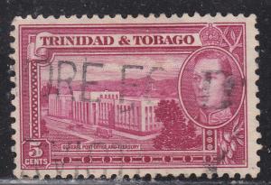 Trinidad & Tobago 54 General Post Office & Treasury 1941