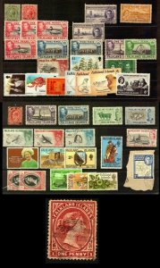 Falkland Islands Classic stamp + modern used and mint nice lot see all images
