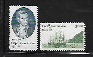 UNITED STATES,1732, MNH, CAPT. JAMES COOK