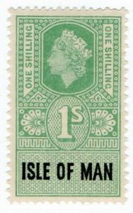 (I.B) Elizabeth II Revenue : Isle of Man 1/-