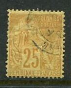 French Colonies #53 Used
