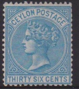 Ceylon Sc#70 MNG