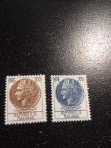 Italy sc 688,689 MNH