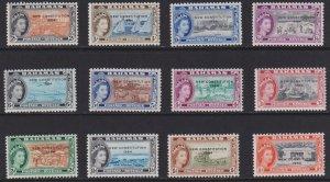 1964 Bahamas QE New Constitution  short set MLH Sc# 185 // 196 CV $11.40